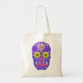 Flower Skull 5 Tote Bag
