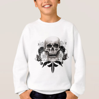Flower & Skull Sweatshirt