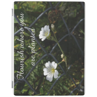 Flower smart cover iPad cover
