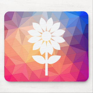 Flower Smells Minimal Mouse Pad