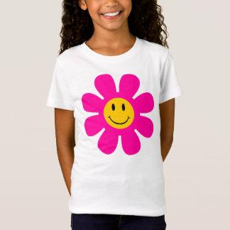 Flower Smiley Face T-Shirt