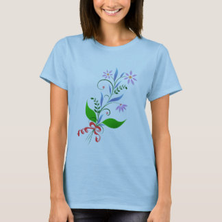 Flower Spaghetti Strap Shirt