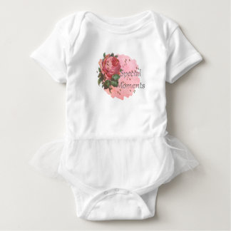 FLOWER SPECIAL MOMENTS BABY BODYSUIT