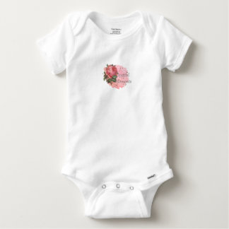 FLOWER SPECIAL MOMENTS BABY ONESIE