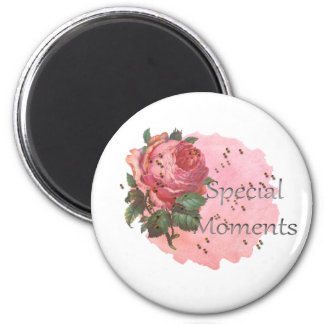 FLOWER SPECIAL MOMENTS MAGNET