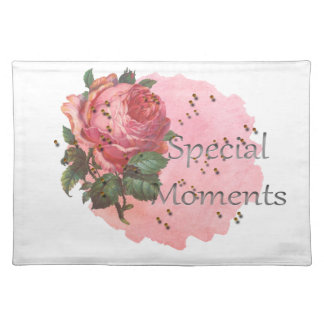 FLOWER SPECIAL MOMENTS PLACEMAT