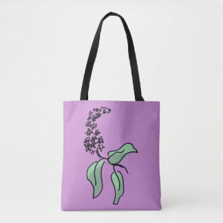 Flower Spray Tote Bag