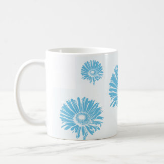 Flower Stamp Ceramic Mug