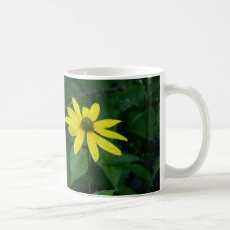 Flower standing alone coffee mug