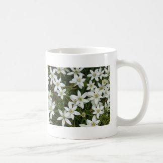 flower,star flower  white mugs