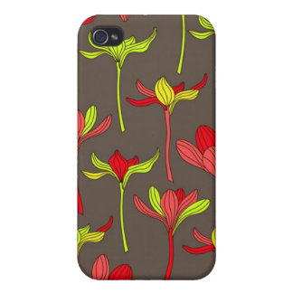 Flower Stem Speck Case Cover For iPhone 4