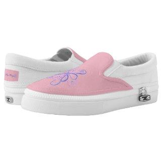 Flower Step Slip-On Shoes