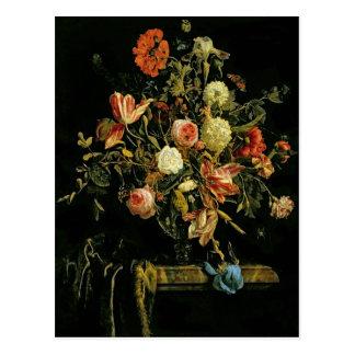 Flower Still Life, 1706 Postcard