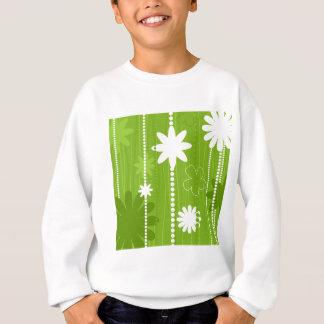 Flower structure sweatshirt