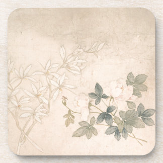 Flower Study 2 - Yun Bing (Chinese) Coasters