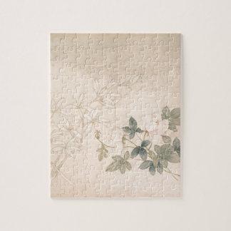 Flower Study 2 - Yun Bing (Chinese) Jigsaw Puzzle