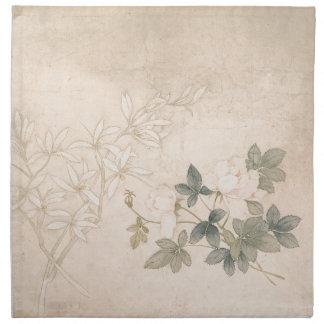 Flower Study 2 - Yun Bing (Chinese) Napkin