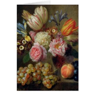 Flower Study Card