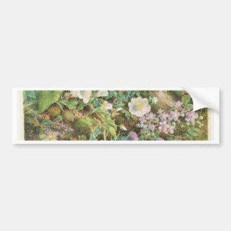 Flower Study - John Jessop Hardwick Bumper Sticker