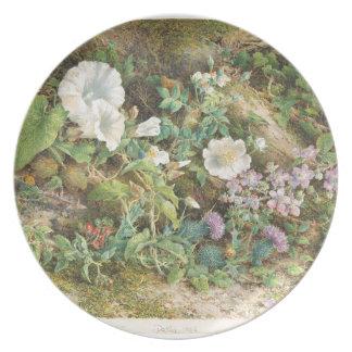 Flower Study - John Jessop Hardwick Plate