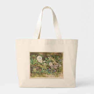 Flower Study Large Tote Bag
