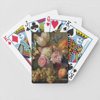 Flower Study (oil on copper) Bicycle Playing Cards