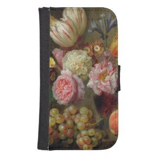 Flower Study Samsung S4 Wallet Case