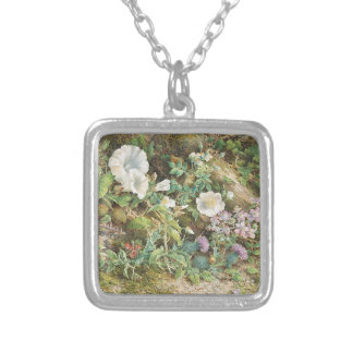 Flower Study Silver Plated Necklace
