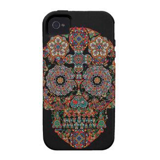 Flower Sugar Skull Apple iPhone 4 Case