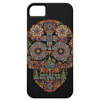 Flower Sugar Skull Barely There iPhone 5 Case