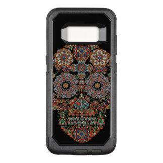 Flower Sugar Skull Otterbox Samsung Galaxy S8 Case
