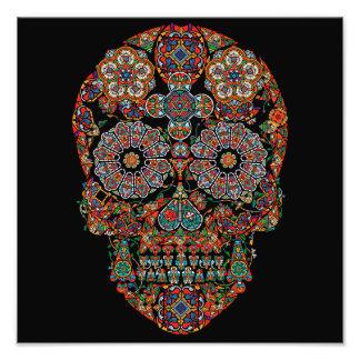 Flower Sugar Skull Photo Print