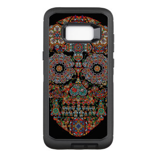 Flower Sugar Skull Samsung Galaxy S8+ Case