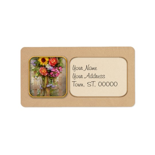 Flower - Summers blessing Address Label