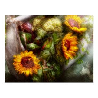 Flower - Sunflower - Gardeners toolbox Post Card