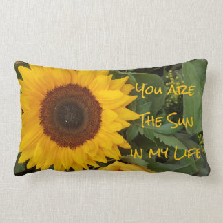 Flower Sunflower Photography Floral Pillow