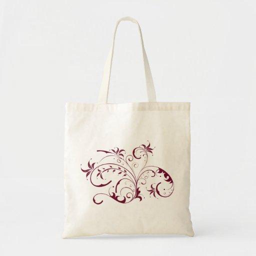 Flower Swirl Bags