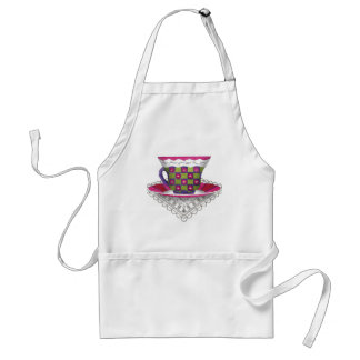 Flower Teacup Apron