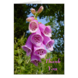 flower Thank You Note Greeting Card