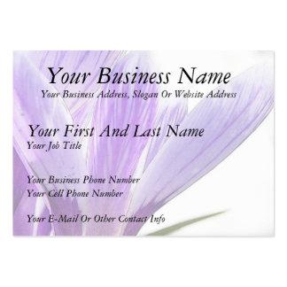 Flower Time - Spring Crocus Business Cards