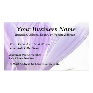 Flower Time - Spring Crocus! Business Cards
