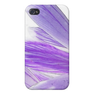 Flower Time - Spring Crocus iPhone 4/4S Covers
