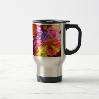 Flower Travel/Commuter Mug