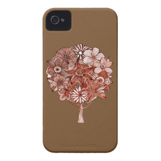 Flower Tree iPhone 4 Case-Mate Case