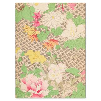 Flower Trellis Tissue Paper