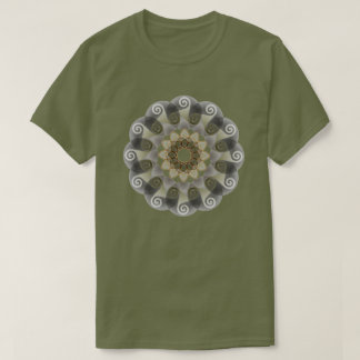Flower Triskele celtic T-Shirt