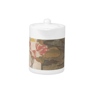 Flower Vase and Lacquer Box - Chinese