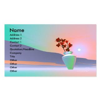 Flower Vase - Business Business Card Templates