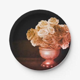 Flower Vase Paper Plates