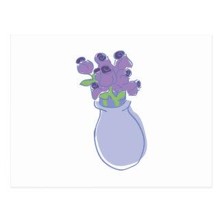 Flower Vase Postcard